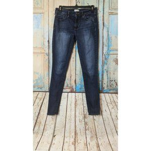 Abercrombie & Fitch Womens Size 4R 27x31 Blue Soli